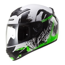 Шлем FF352 ROOKIE ONE BLACK FLUO GREEN